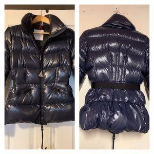 Moncler Jacket Navy Blue Women's Size 2 Autentic
